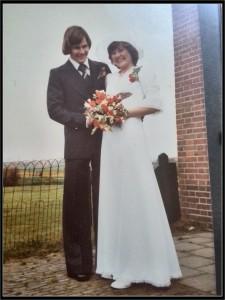 Hier waren mijn ouders uitgeflirt en gingen ze trouwen. Mijn moeder heeft deze jurk zelf gemaakt.