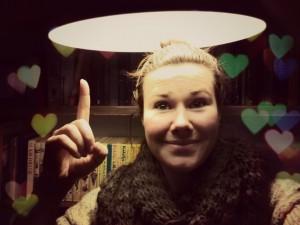 Ik ben verliefd op mijn nieuwe spaarlamp.