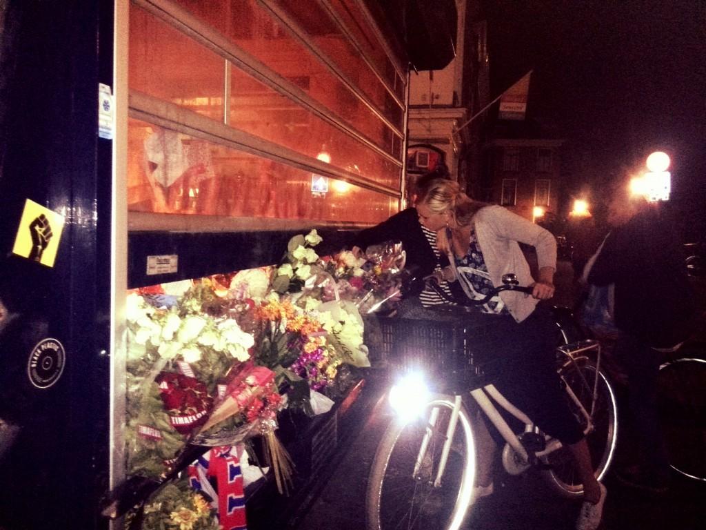 Bloemen voor Willem