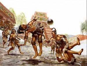 Voetbal a la Maya