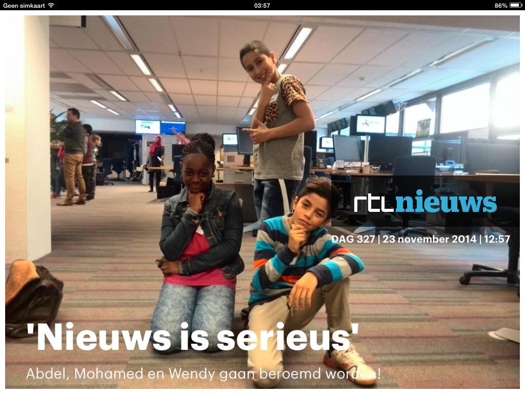 Abdel, Mohamed, Wendy RTL nieuws