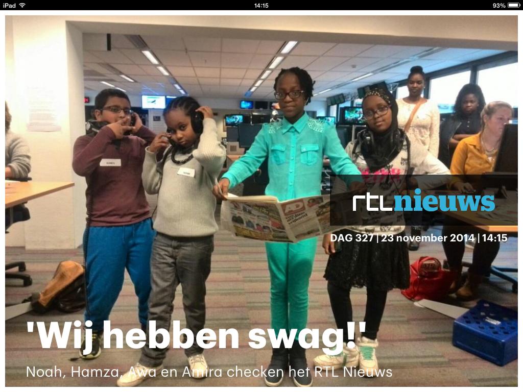 Noah, Hamza, Awa en Amira RTL Nieuws