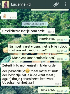 screenshot nominatie