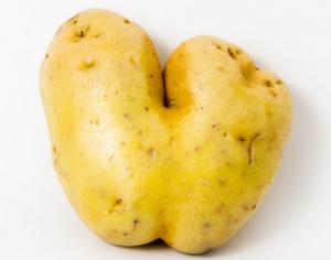 Een liefdesaardappel