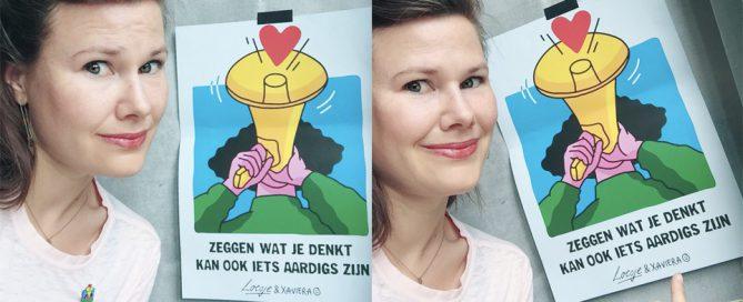 Zeggen wat je denkt kan ook iets aardigs zijn - Ikreddewereld.nl